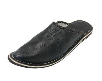 Oriental leather shoes Slippers slipper slippers-Men's
