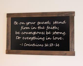 1 Corinthians 16 13 Etsy