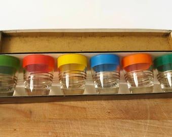 Vintage Boxed Shot Glasses