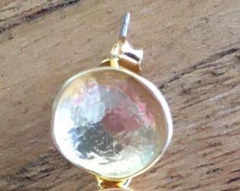 Not Sold Separately | CONVERT Hook Earrings into POST Earrings Fee - GOLD