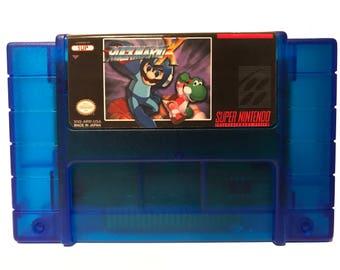 Rock Mario X, SNES Super Nintendo