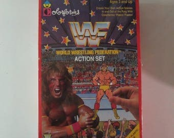WWF Colorforms Action Set 1990, *Sealed*