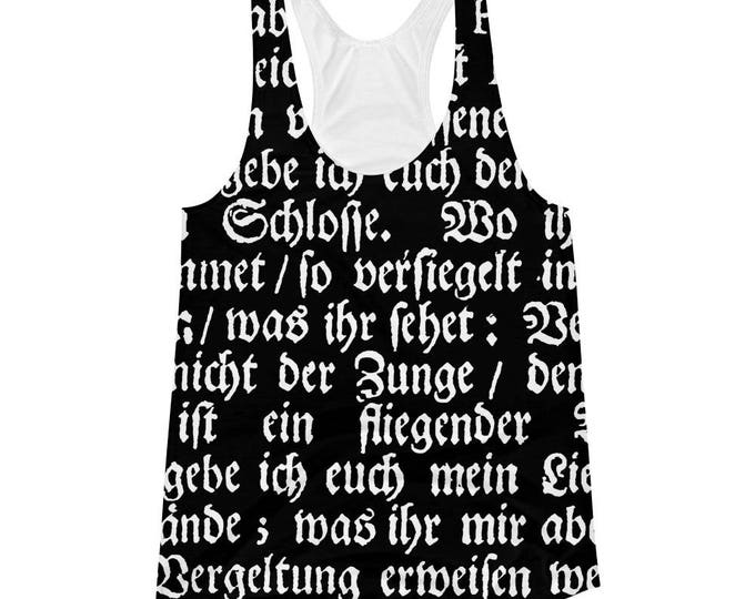 Deutsch- Femme Fit Racerback Tank