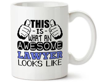 This Is What An Awesome Lawyer Looks Like, Coffee mug, Water bottle, Lawyer gift, Gift for lawyer, Christmas for lawyer, Birthday for lawyer