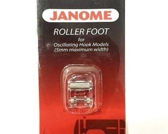 Janome Roller Foot #200142001 Low Shank Snap-On Presser Foot
