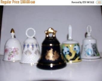 ON SALE Vintage Lot of Bells
