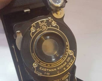 ON SALE Vintage No.1A Pocket Kodak with Case