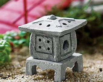 Asian Lantern - miniature enchanted fairy garden