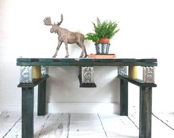 Coffee table, wooden table, pallet table