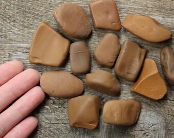 Sea lucky stones beach stones talisman stones pebble stones natural sea rocks sea stones lucky antique collectibles vintage collectibles