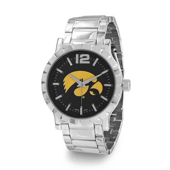 Collegiate Licensed University of Iowa Men's Fashion Watch