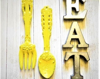 Eat Wall Decor eat sign | etsy