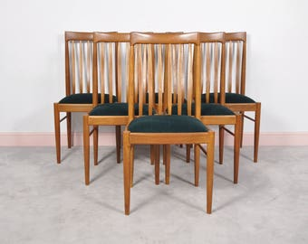 Danish Teak Dining Chairs by H. Klein for Bramin 1960s,set of 6