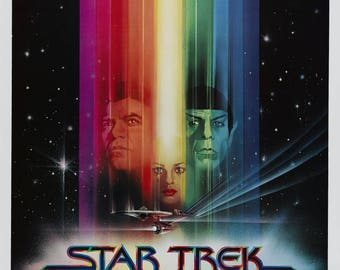 FREE SHIPPING Star Trek the Motion Picture movie poster 11x17