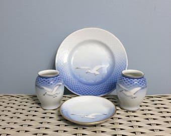 B&G Copenhagen Porcelain Seagull Set