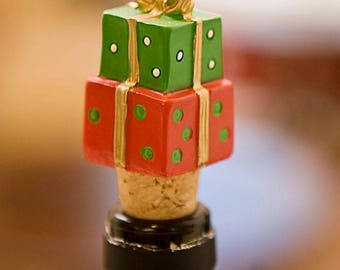 Holiday Gifts Wine Bottle Stopper