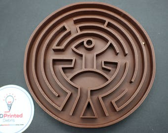 Westworld Maze game and display