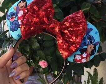Lilo & Stitch inspired Disney Ears