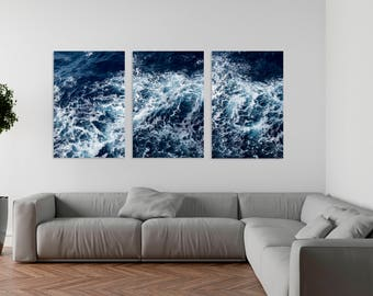 Wave print, Ocean art, Wave art, Wave photography, Ocean print,wave art print,wave set,Ocean photography,ocean decor,wave decor,ocean photo