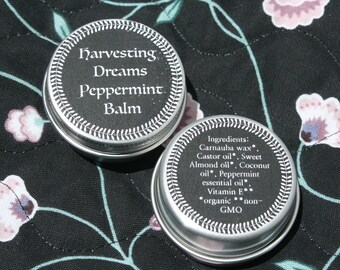 Healing, moisturizing balm | Salve | Lavender | Eucalyptus | Peppermint | Organic & Vegan-friendly | Vitamin E | Essential Oil