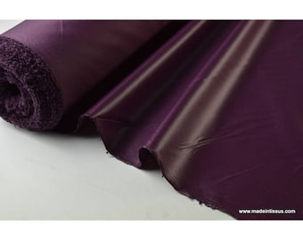 Water repellent for umbrella x50cm plum polyester fabric