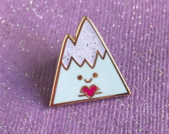Happy Mountain Pin
