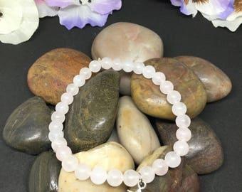 Ros quartz  bracelet