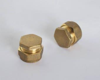 Modern Industrial Steampunk Knob. Drawer Knob, Handle, Knob. Cabinet knob. Kitchen Cabinet knob. Kitchen Door Handle.