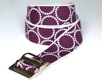 "High Quality Custom Gait Belt and Badge Reel ""The Anna"""