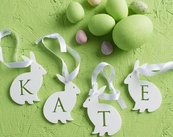 Personalised Name Rabbit Decoration