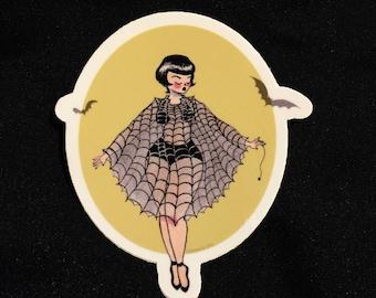 Spider Queen Vinyl Sticker