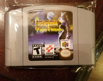 Castlevania Legacy of Darkness N64 Custom English Nintendo 64