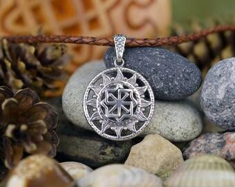 Molvinets Pendant. Handmade Ancient slavic amulet. Nordic talisman. Scandinavian Viking Talisman. Pagan Ethnic Necklace Amulet.