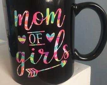 Mom of Boys/Girls Mug/ Mom Christmas Gift