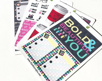 Bold & Beautiful Planner Stickers