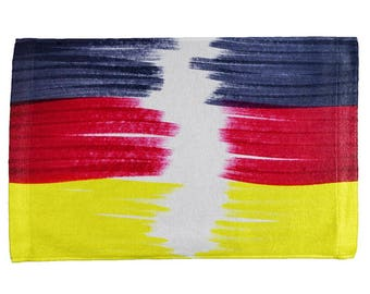 Oktoberfest Color Me German All Over Hand Towel