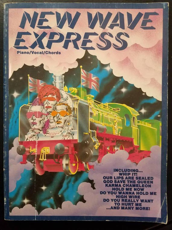 New Wave Express Pianovocalschords Sheet Music Collection