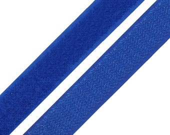 2 Velcro straps blue 20 cm Velcro and Velcro