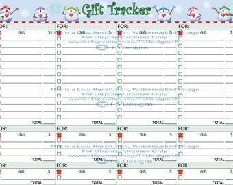 Christmas Gift Tracker