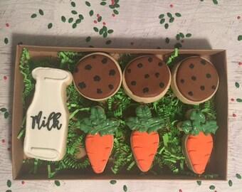 Milk and Cookies for Santa set