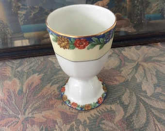 Early 1900-20's T. Haviland Limoges Satara Egg Cup, Larger Turkey, Goose or Duck Egg, Rare, Mint!