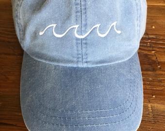 Ocean Waves Hat
