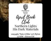 Book Yarn Club // April - Northern Lights // His Dark Materials // Strawberry Fields Yarns