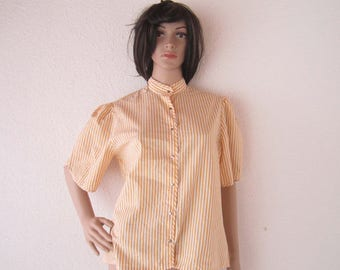 True vintage 50s Blouse Büngener blouse rockabilly s