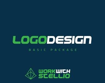 Custom Logo Design - Graphic Design - Graphic Design Services Brand Identity Custom Graphic Designer - Branding Basic Pack Australian