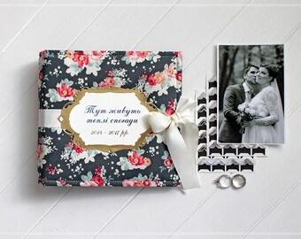Wedding Guest Book, Custom Photo Album, Personalized Wedding Album, Wedding Photo Book, Scrapbook Wedding, Album Photo Book, Instax Album