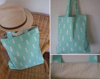 Beach bag, handbag, tote bag, women fabric