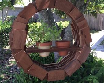 Hanging Planter Wreath