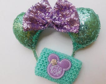 Mint & Purple Minnie Ears!