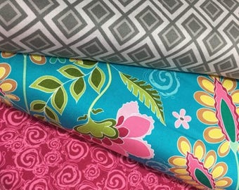 Sale Bundle of 3 Fabrics from the Fantine Collection by Lila Tueller for Riley Blake Fabrics
